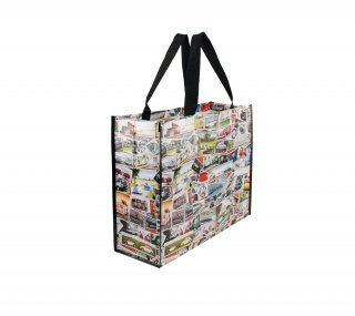 <img class='new_mark_img1' src='https://img.shop-pro.jp/img/new/icons55.gif' style='border:none;display:inline;margin:0px;padding:0px;width:auto;' />Volkswagen SHOPPER BAG<br>BRISA : VW STAMPS