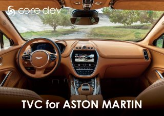 <img class='new_mark_img1' src='https://img.shop-pro.jp/img/new/icons15.gif' style='border:none;display:inline;margin:0px;padding:0px;width:auto;' />core dev TVC <br>for ASTON MARTIN<br>【取付サービス商品※工賃込】