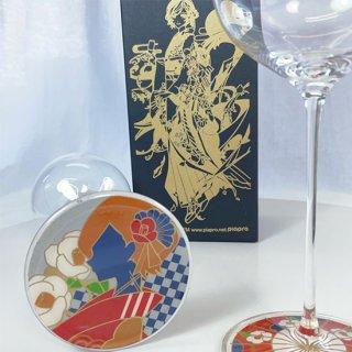 蒔絵×MEIKO(メイコ) 蒔絵ワイングラス