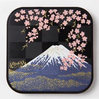 蒔絵ワイヤレス充電器 富士に桜 紙箱入り