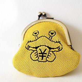 久保木畳店特製☆がまぐちがキュート☆カネゴンの畳縁コインケース