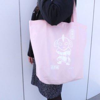 トートバッグ(ウルトラの母×鍾馗様のコラボレーション)ピンク