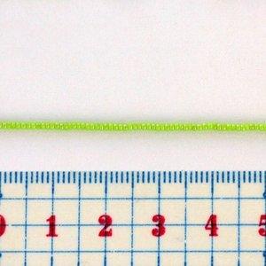 シャルロットビーズ 15/0 グリーン 約25cm