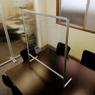 パーテーション (テーブル・カウンター用)L脚タイプ