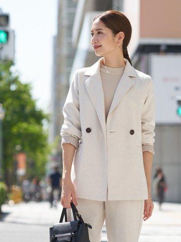 【70%off】ヘリンボーンテーラードジャケット