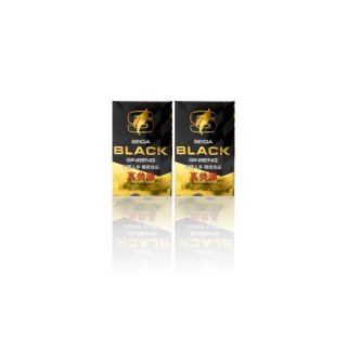 SEIGA BLACK GINSENG 真美源 90粒入り 2箱セット(送料込み)