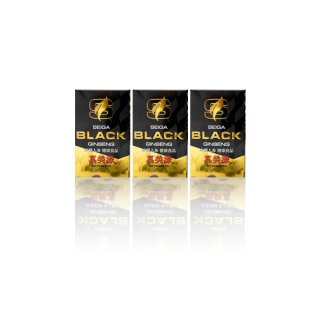 SEIGA BLACK GINSENG 真美源 90粒入り 3箱セット(送料込み)