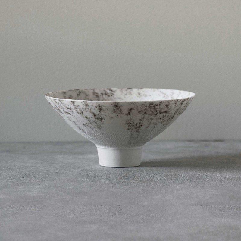 矢萩誉大 bowl j-tea white&black