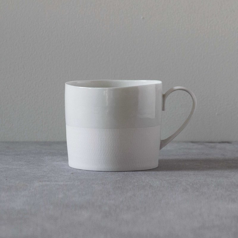 矢萩誉大 mug white