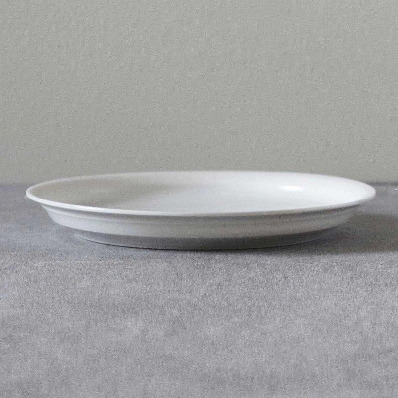 矢萩誉大 plate rim white