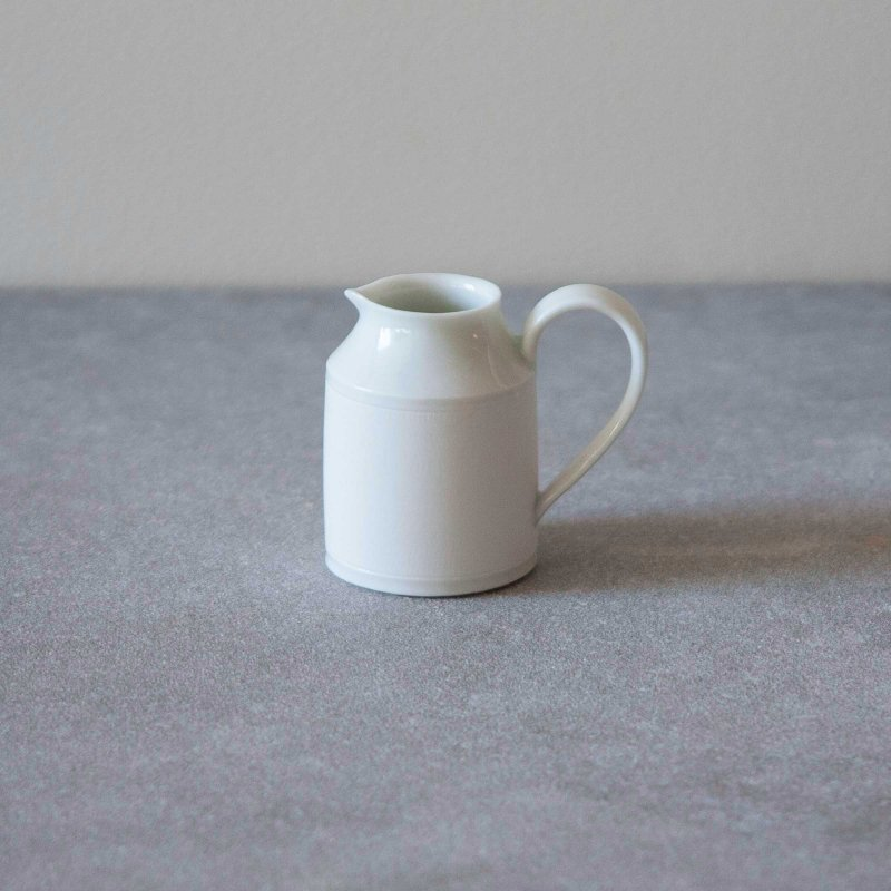 矢萩誉大 milk jug white