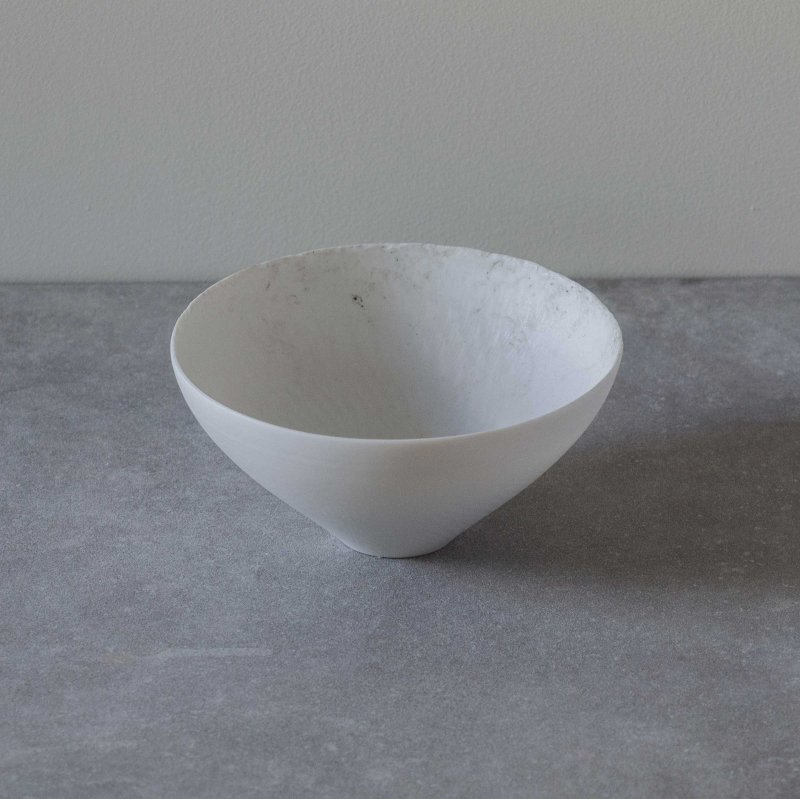 矢萩誉大 bowl white & black M