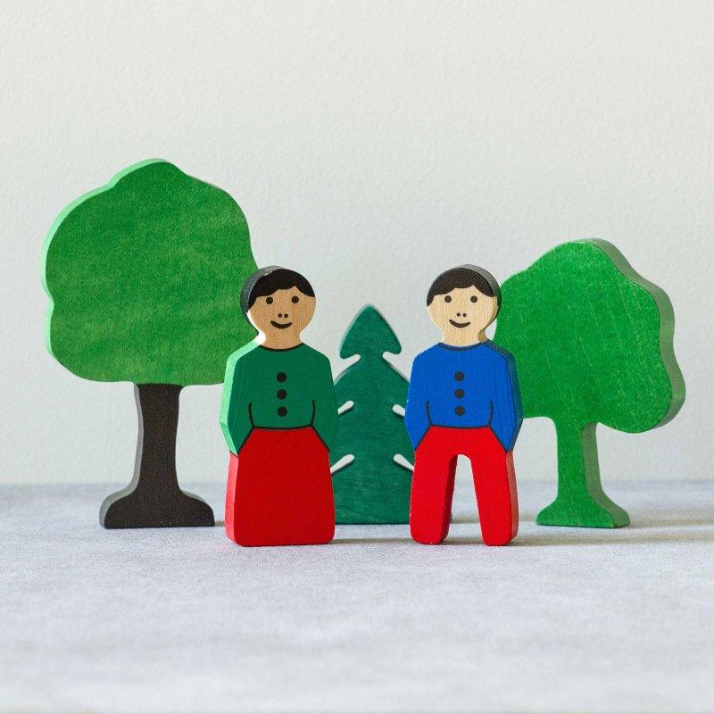 アルビスブラン 木と人