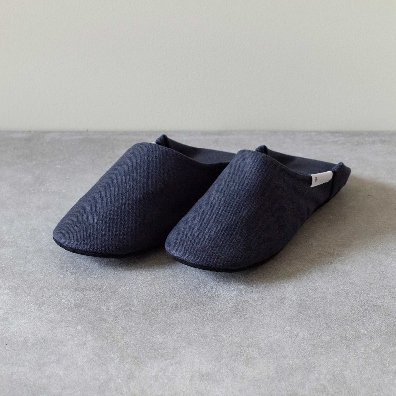 ABE HOME SHOES 帆布バブーシュ S