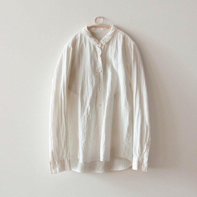 F/style/ベーシックシャツ 二重ガーゼ・スーピマ綿