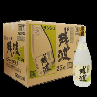 残波 ホワイト 25度/720ml 瓶 12本