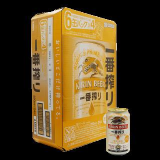 キリン 一番搾り 350ml 缶 24本