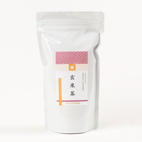 玄米茶 200g│ マルシゲ清水製茶