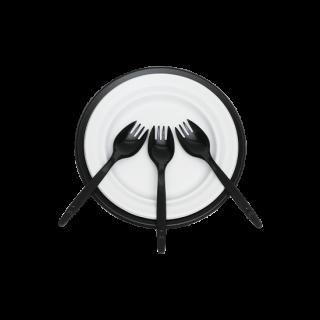 簡易食器セット オセロ