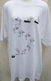 ハシビロコウ「ふたば」Tシャツ