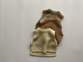 <img class='new_mark_img1' src='https://img.shop-pro.jp/img/new/icons16.gif' style='border:none;display:inline;margin:0px;padding:0px;width:auto;' />【sale】 Knit vest / Aosta