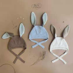<img class='new_mark_img1' src='https://img.shop-pro.jp/img/new/icons16.gif' style='border:none;display:inline;margin:0px;padding:0px;width:auto;' />【sale】 Lapan Rabbit Knit Hat / ikii