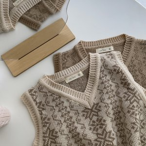 knit vest / thelala no.606