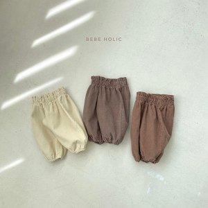 【予約】moco corduroy pants / Bebeholic no.30015