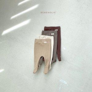 【予約】sally rib tights / Bebeholic no.30017