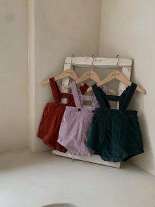 【予約】macaron suspenders pants / Monbebe no.1001
