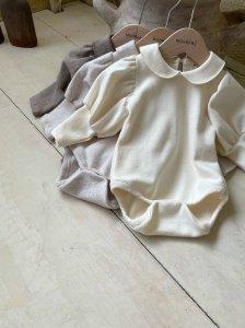 【予約】puff collar suit / Monbebe no.1004