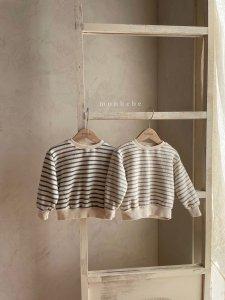 【予約】brush stripe mtm / Monbebe no.1006