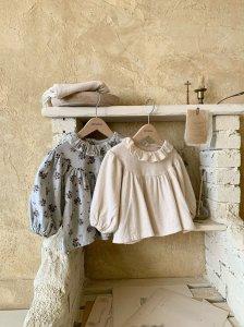 【予約】rose blouse / Monbebe no.1007