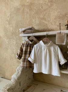 【予約】2way blouse / Monbebe no.10010