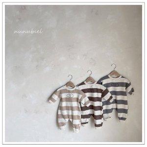 【予約】cloud stripe suit / nunubiel no.4004