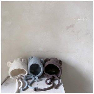 【予約】fleece gomgom bonnet / nunubiel no.4005