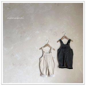 【予約】milk tea suspenders pants / nunubiel no.4006