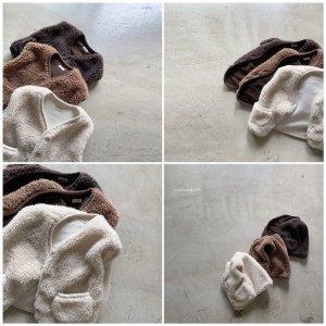 【予約】fleece vest / nunubiel no.4009