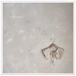 【予約】knit frill collar / nunubiel no.40015