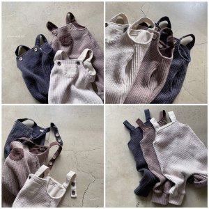 【予約】bagel knit suspenders / nunubiel no.40016