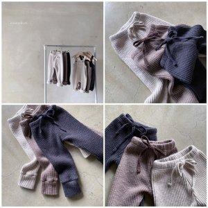【予約】bagel knit leggings / nunubiel no.40016