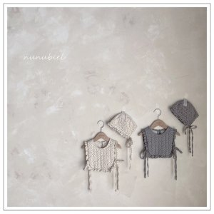 【予約】ali brush bonnet / nunubiel no.40017
