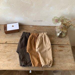 【予約】monk pants / mimi-market no.5004