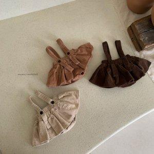 【予約】corduroy cancan skirt / mimi-market no.50010