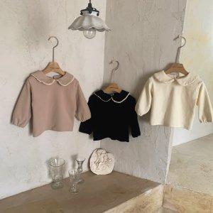 【予約】fiona collar tee / mimi-market no.50012