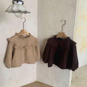【予約】kona plain blouse / mimi-market no.50016