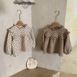 【予約】kona flower blouse / mimi-market no.50016