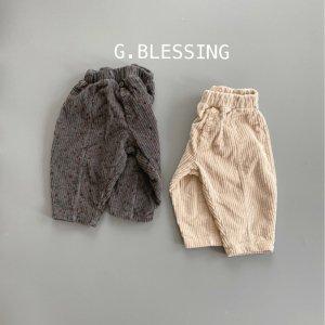 【予約】corduroy bonding pants -Jr.- / no.30002