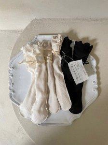 【予約】rib knee high socks / Monbebe no.10015
