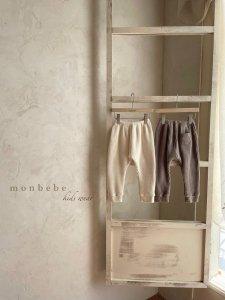 【予約】brush waffle pants / Monbebe no.10016